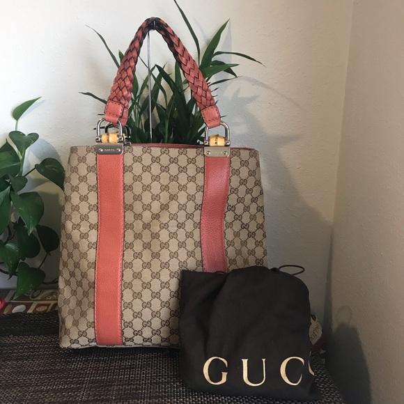 2ef8437b797a Gucci Bags | Gg Canvas Tote Bag | Poshmark